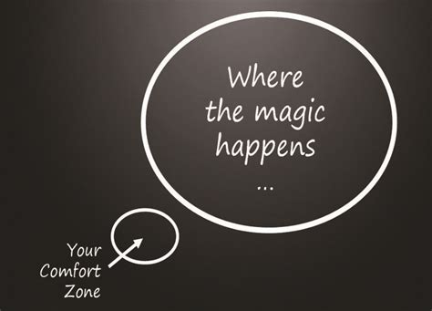 where the magic happens your comfort zone out of my comfort zone and into recruiting why i changed