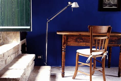 rich indigo wall paint wall feature wall paint colour ideas houseandgarden co uk