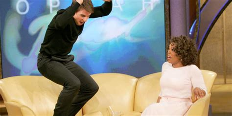 tom cruise couch jump tom cruise jumped on oprah s couch and lost his mind 11 years ago the huffington post