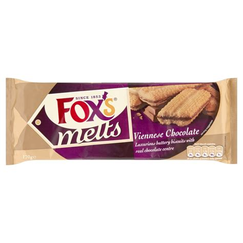 Coffee Salt by Fox S Melts Viennese Chocolate 120g Sweet Biscuits