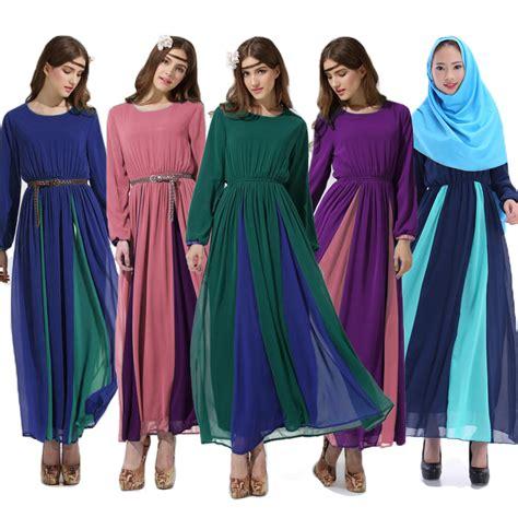 Maxi Kenyo Pink Muda Phasmina kontras dengan gaun panjang maxi abaya islam berwarna merah muda lazada indonesia