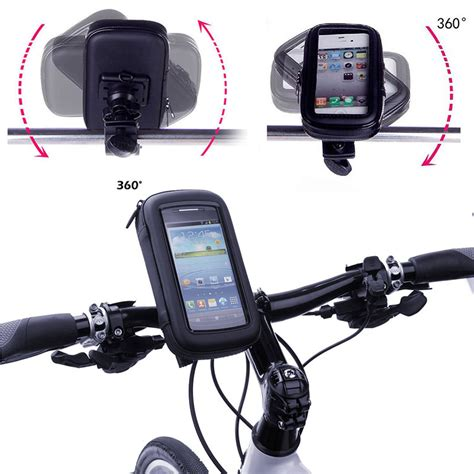 New Arrival Holder Sepeda Motor Bicycle Waterproof Medium Size aliexpress buy bike phone mount holder for samsung galaxy grand prime cycling phone