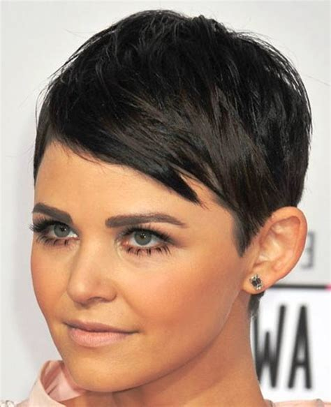 3bed 2bath Floor Plans by Side Swept Pixie Haircut Ginnifer Goodwin Cute Short And