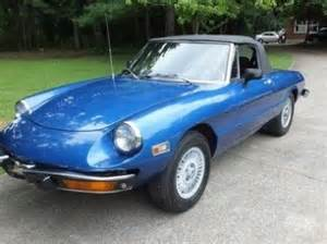 74 Alfa Romeo Spider Sell Used 74 1974 Alfa Romeo Spider 2000 2 Tops In