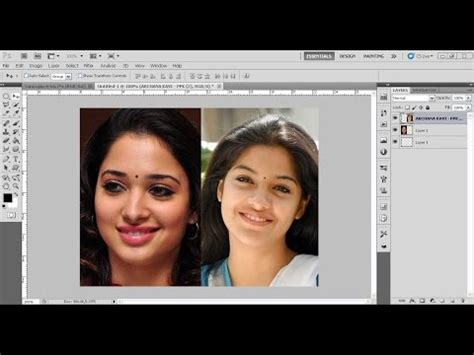 tutorial face swap photoshop indonesia how to swap faces face swapping photoshop tutorial in