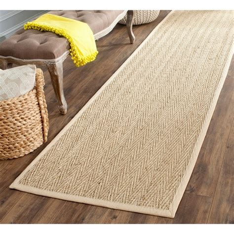 Thick Bathroom Rugs by Safavieh Casual Natural Fiber Hand Woven Sisal Natural