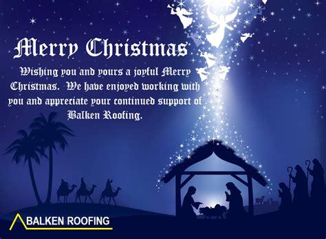 merry christmas  balken roofing balken roofing