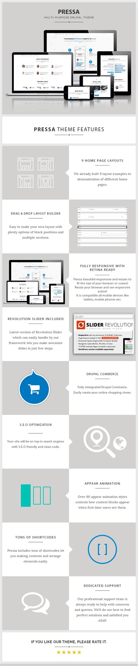 drupal themes overview pressa multi purpose ecommerce drupal theme