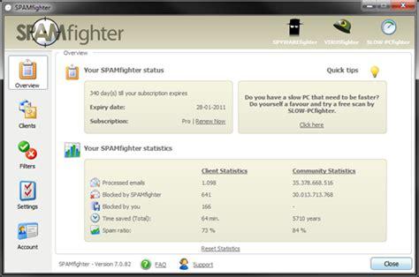 Microsoft Outlook Live Spamfighter Spam Filter For Microsoft Outlook Live Mail