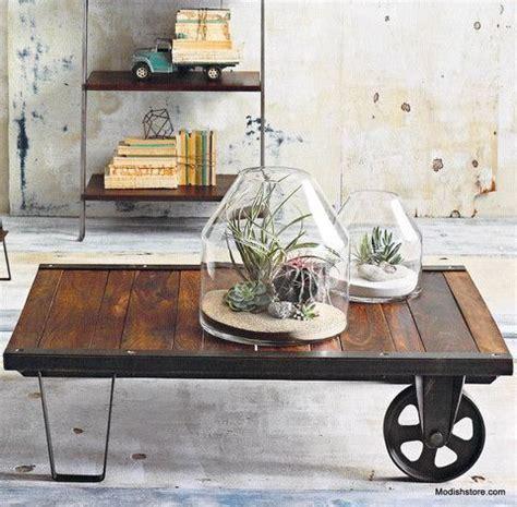 Supérieur Table De Cuisine En Palette #3: table-basse-palette-a-vendre-pieds-et-roulettes.jpg