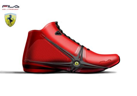 ferrari shoes ferrari and ducati concept fila shoes the carloos blog
