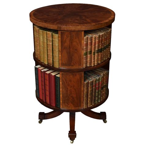 edwardian circular revolving bookcase at 1stdibs
