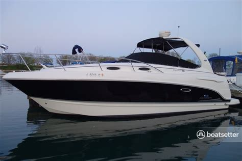 renting boats in chicago lake michigan rent a 2005 29 ft 2005 270 chaparral signature cruiser in