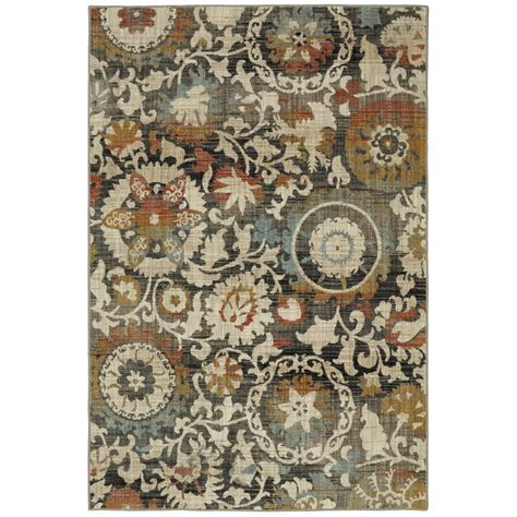 Nature Area Rugs Shop Mohawk Home Jeslynn Indoor Nature Area Rug Common 8 X 10 Actual 8 Ft W X 10 Ft L At