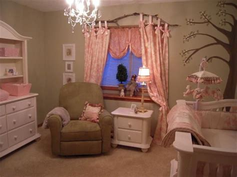 Nursery Curtain Rod Princess Nursery Notice The Branch As A Curtain Rod Nurseries Branch
