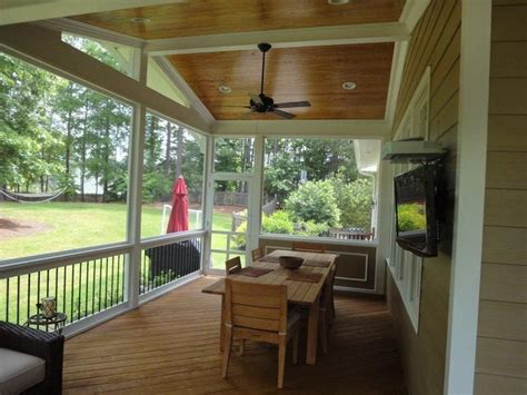 screen porch electrical optionsour base price includes
