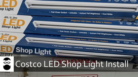 hyper tough led shop light costco led shop light install