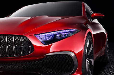 Concept Mercedes Mercedes Concept A Sedan Previews Next Compact