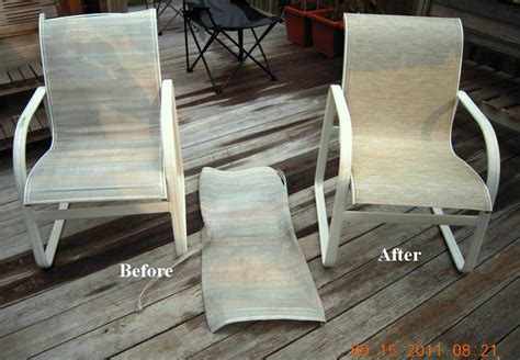 Patio Chair Webbing Replacement Woodard Patio Furniture Replacement Slings In New Jersey With Wavey Lines Chagne Outdoor Fabric