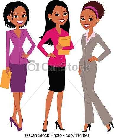 clipart donne clipart vettoriali di gruppo donne illustration di