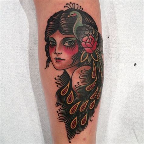traditional peacock tattoo best 25 traditional ideas on