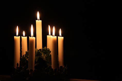 gambar musim dingin api kegelapan lilin hari natal