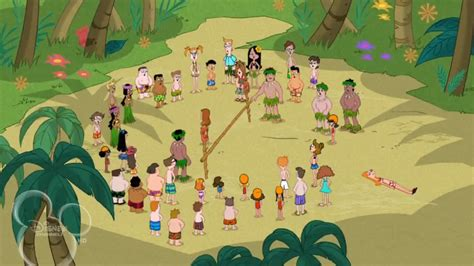 phineas and ferb backyard beach episode image lawn gnome beach party of terror56 jpg phineas