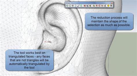 tutorial artisan sketchup artisan video manual reduce polygons youtube