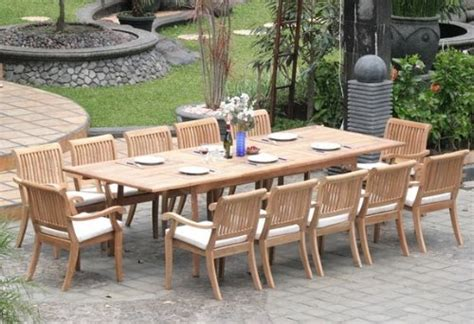 Outdoor Dining Table For 12 How To Find The Outdoor Dining Sets For 12 Interior Exterior Ideas