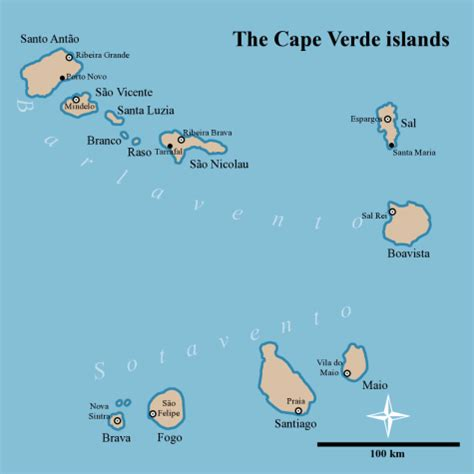 cape verde islands map cape verde map capeverdeweb