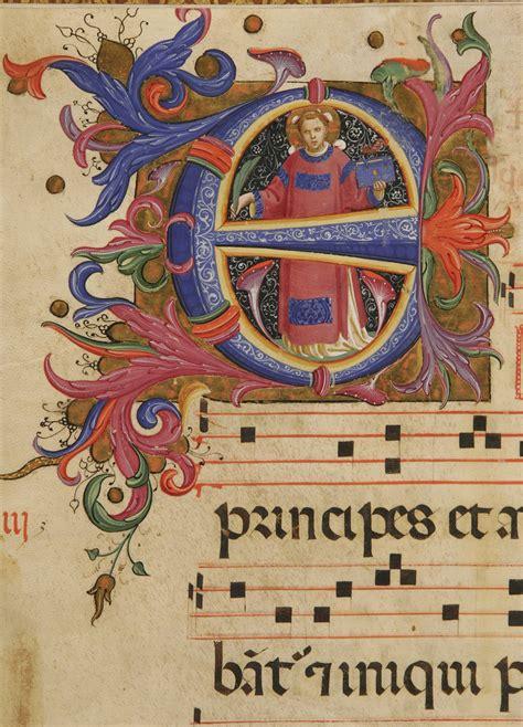 miniature medievali lettere miniature di una iconografia