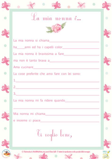 lettere per nonni festa dei nonni la lettera ai nonni filastrocche it