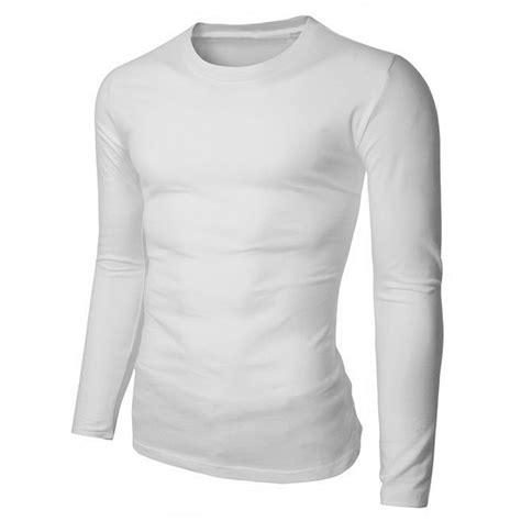 V Neck Basic Blouse White Neumor 100 cotton mens slim basic t shirt sleeve v neck