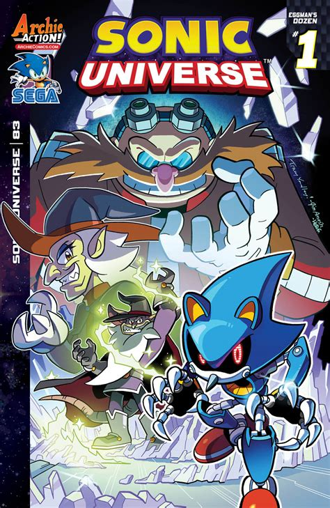 Crush Gear Part Cover Mega Universe covers and solicitations for sonic the hedgehog 280 sonic universe 83 and sonic digest