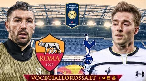 rmc sport network diretta tottenham roma la copertina match roma
