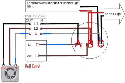 pull chain switch wiring diagram pull get free image