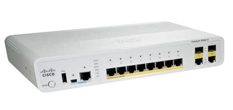 Switch Cisco cisco 2960c switch 8 fe 2 x dual purpose uplink lan lite data centre shop