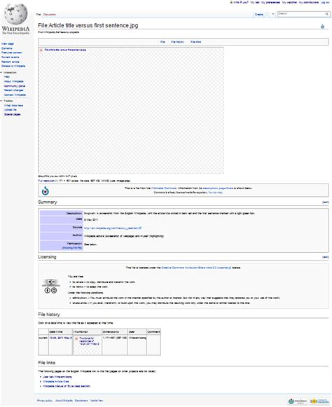 wiki page template file screen of blank image page file 183 article title