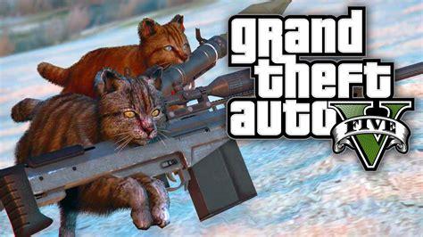 gta  mods cats  guns gta   pc mods youtube