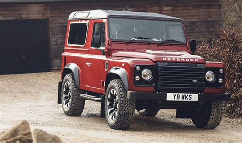 Land Rover Defender New Model 2018 by Land Rover Defender V8 2018 Limited Edition Car To Go On