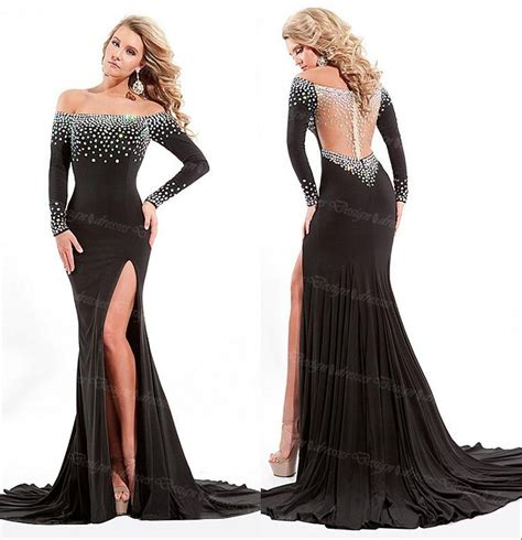 best black best black prom dresses 1 4 fashionoah throughout best