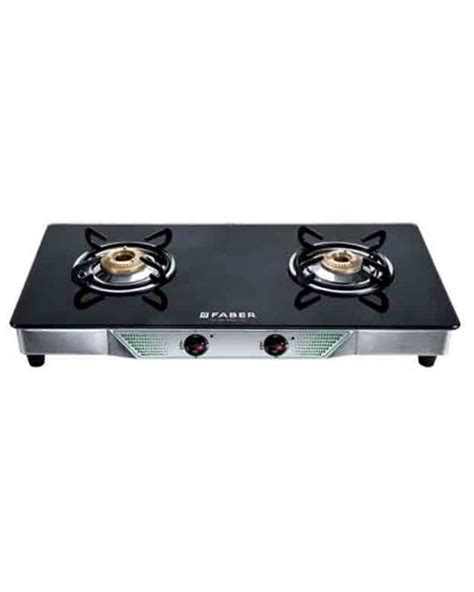 Gas Stove Cooktop buy faber 2 burner cooktop gas stove crystal20ctai