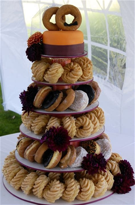 Wedding Bouquet Made Of Donuts by Wedding Talk Donut Wedding Cake