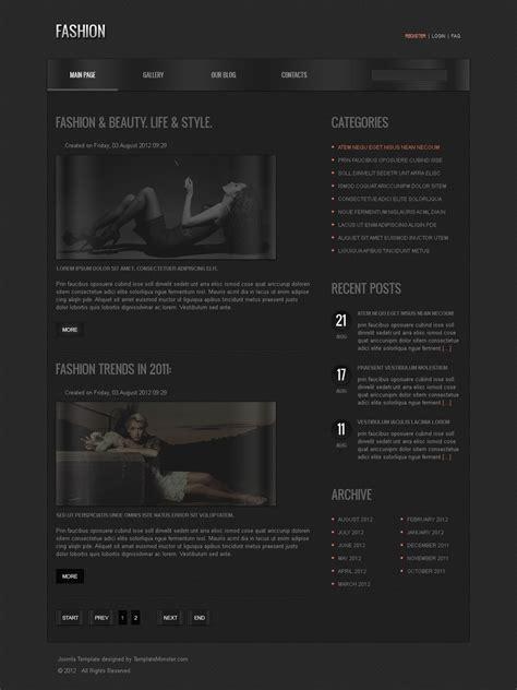 free joomla fashion template