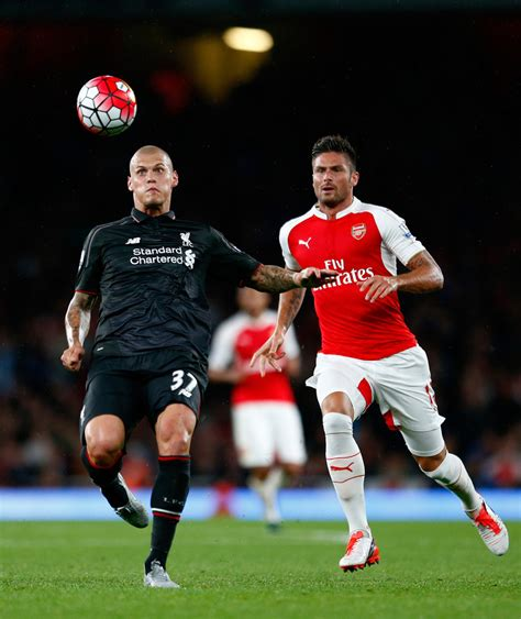 Arsenal Away 1516 arsenal v liverpool fc monday 24th august 2015 match gallery