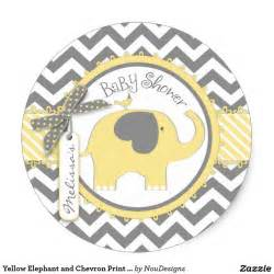 Elephant Vase 31 Baby Shower Decorating Ideas With Gray Amp Yellow Theme