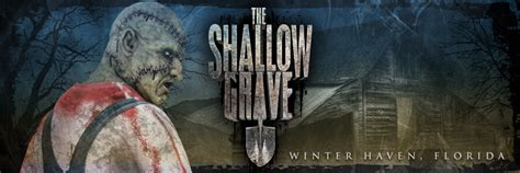 the shallow grave florida haunted houses florida haunted house the shallow grave in winter haven