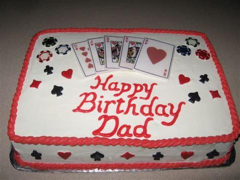 Grandpa's Play Card Birthday Cake   CakeCentral.com