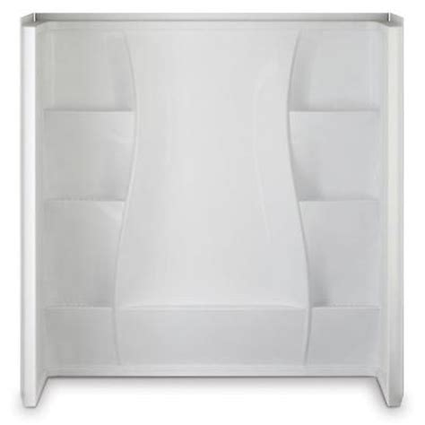 bathtub surrounds home depot 32 in x 60 in x 61 5 in 5 piece direct to stud tub wall