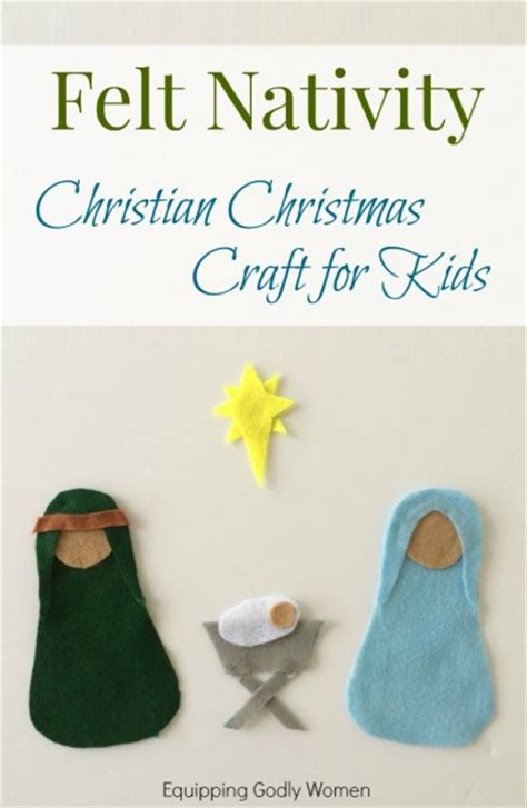 christian crafts christian crafts for felt nativity